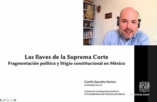 Distinguen estudio sobre judicialización de conflictos en México