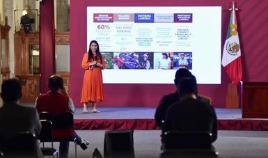 Impulsa STPS acciones para fortalecer la participación de las mujeres en el mundo del trabajo