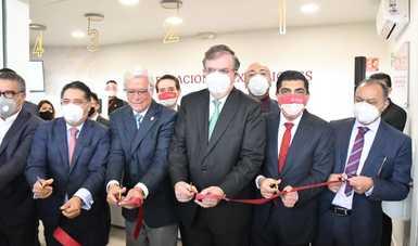 La Secretaría Relaciones Exteriores inaugura la primera delegación de pasaportes en un aeropuerto internacional en México