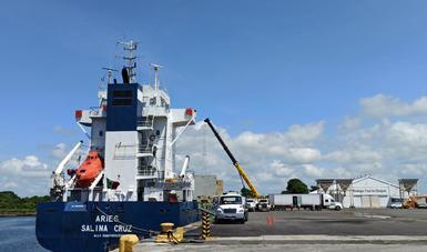 Inicia ruta piloto de transporte marítimo de corta distancia (TMCD) Puerto Chiapas y Puerto Quetzal