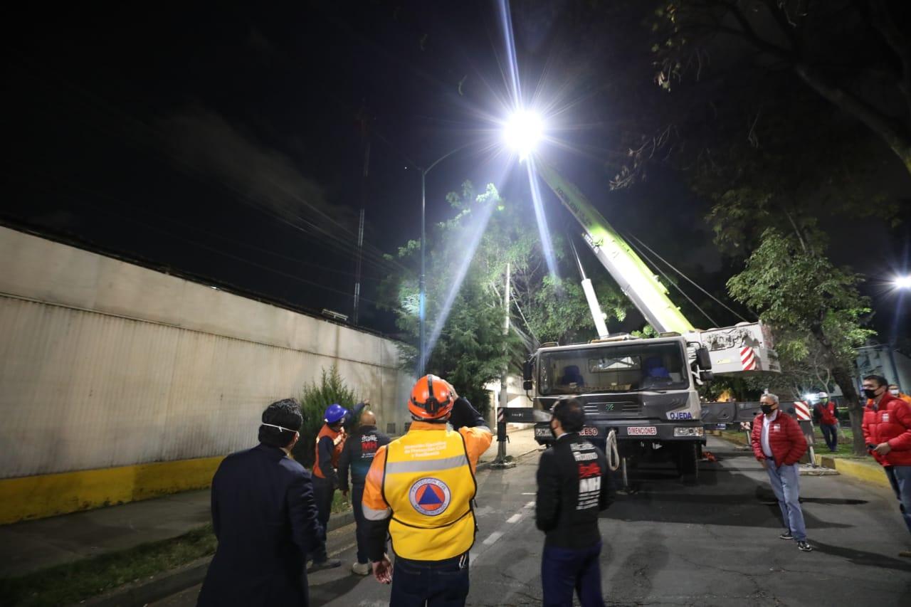 Retira AMH mega antena ilegal