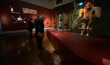 Todo listo para la inauguración de Aztecas en el Museo Etnográfico de Viena, en Austria