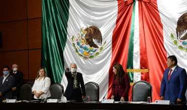 Palabras secretaria Olga Sánchez Cordero, en su comparecencia ante comisiones unidas de Gobernación y Población y de Asuntos Migratorios