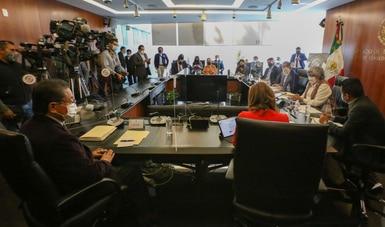 Mensaje de la secretaria de Economía, Graciela Márquez Colín, en Comparecencia en la Comisión de Economía del Senado
