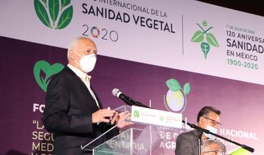México, referente en el control y erradicación de plagas, y confiable productor de alimentos de calidad
