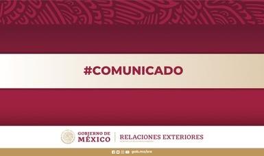 La SRE anuncia el nombramiento de Luis Gutiérrez Reyes como titular del Instituto de los Mexicanos en el Exterior