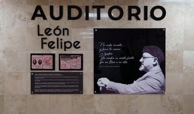 Llevará auditorio del INM nombre del poeta León Felipe