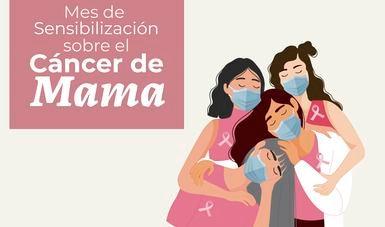 Prevención y detección oportuna, fundamentales en control de cáncer de mama