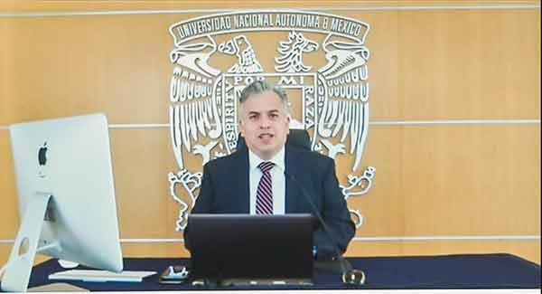 Fernando Macedo Chagolla, al frente de la FES Aragón