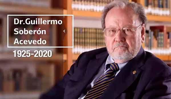 La UNAM rinde homenaje a Guillermo Soberón; mexicano excepcional y rector magnífico