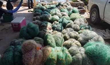 Retiene Conapesca, de manera precautoria, más de 112 mil kilos de producto pesquero y acuícola