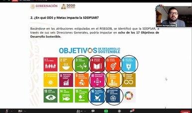 Avanza Gobernación en colaboración interinstitucional e internacional para lograr un país próspero, seguro, sustentable y en paz