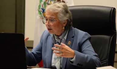 La lucha feminista es no solamente legítima, sino profundamente necesaria en el país, enfatiza secretaria Olga Sánchez Cordero