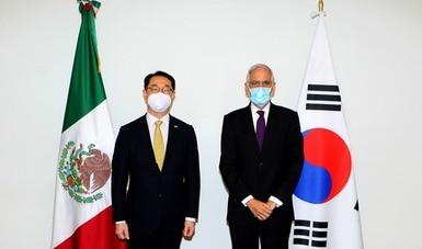 México y la República de Corea continuarán fortaleciendo su relación bilateral