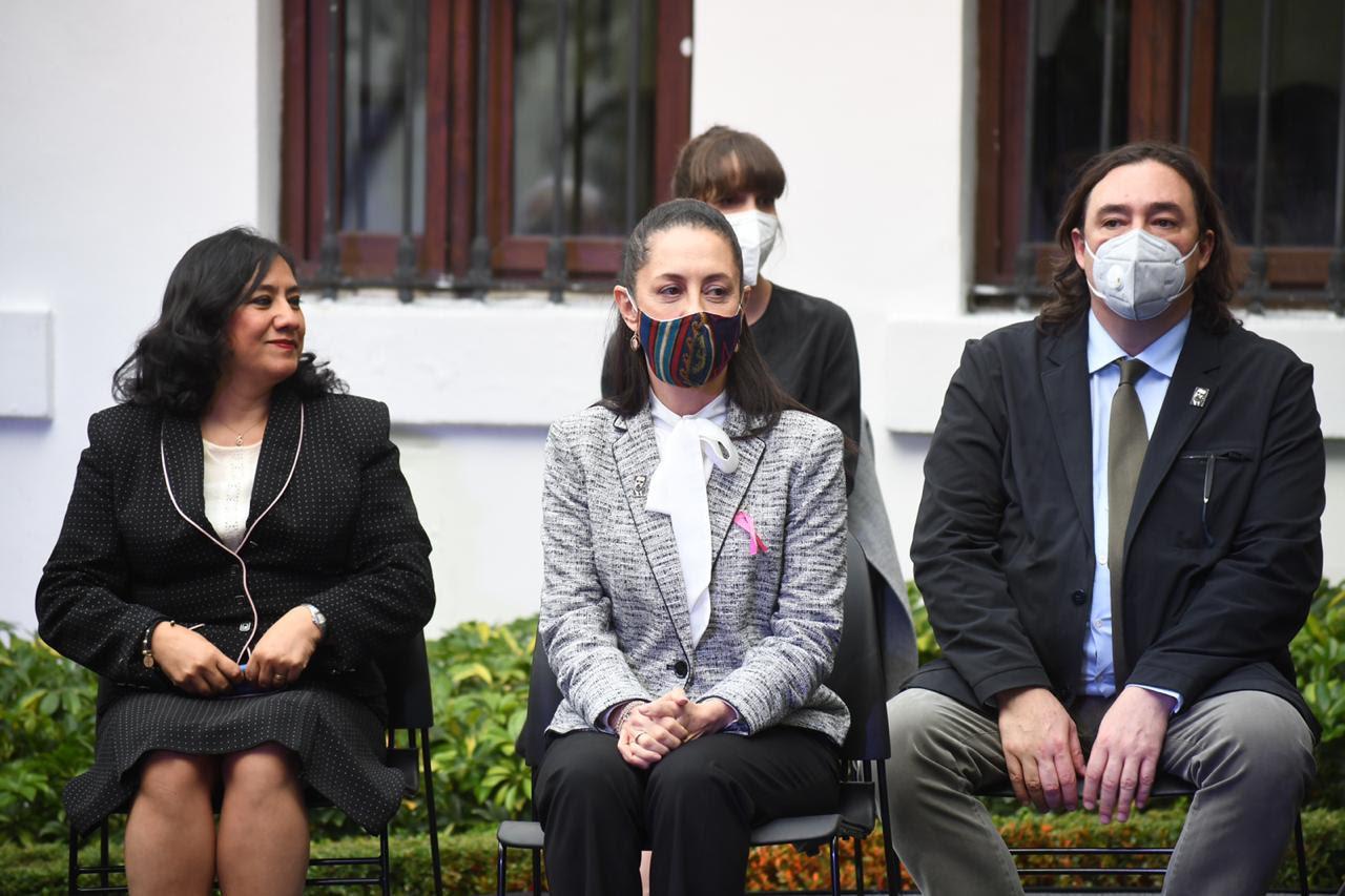 Asiste Jefa de Gobierno a inauguración de la Casa Presidencial Lázaro Cárdenas
