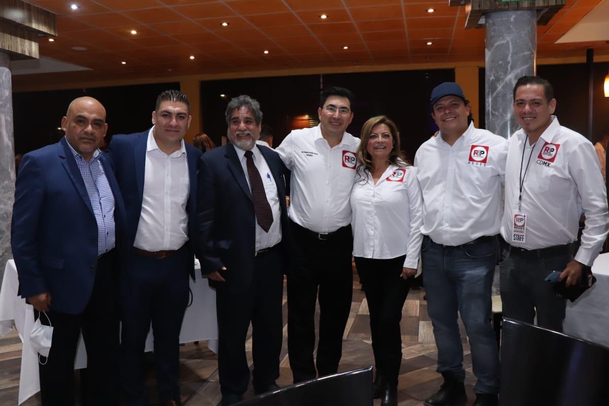 Redes Sociales Progresistas se despliega en CDMX