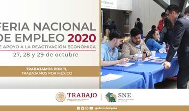 Ofertarán más de 25 mil vacantes en la Feria Nacional de Empleo 2020