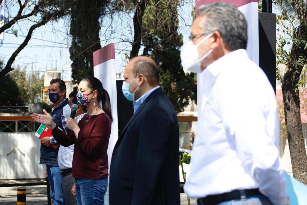 Inaugura Gobierno capitalino Colector Tahel-Oceanía; evitará inundaciones y encharcamientos en GAM y Venustiano Carranza