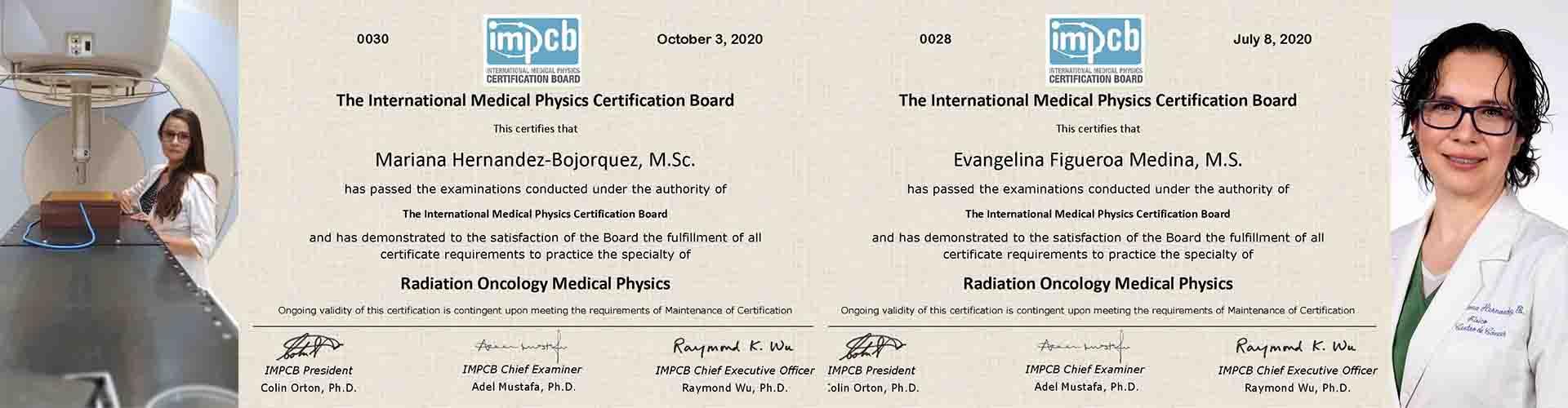 Politécnicas, primeras mexicanas con certificación internacional en física médica