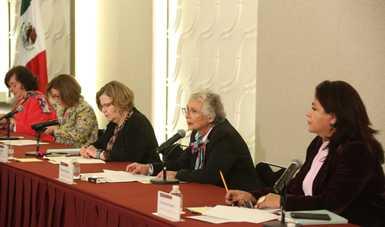 Son prioridad del presidente, estrategias contra violencias por motivo de género, enfatiza secretaria Olga Sánchez Cordero