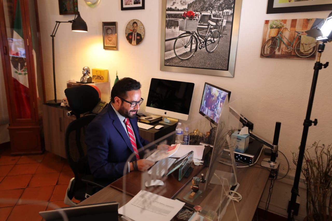 Romo representa a alcaldes en el foro Latinoamerican Digital Alooh Live