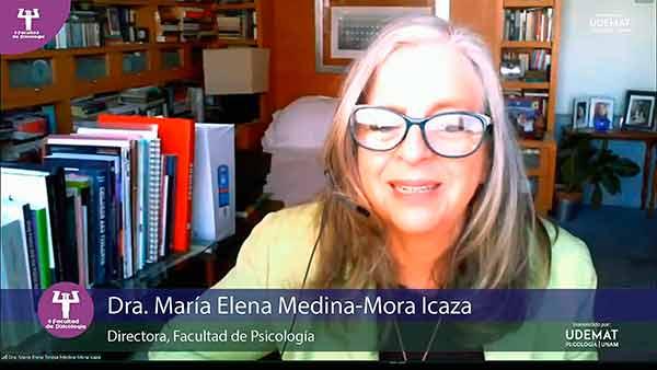 Con interés genuino de trabajar, María Elena Teresa Medina-Mora Icaza, asume la dirección de Psicología