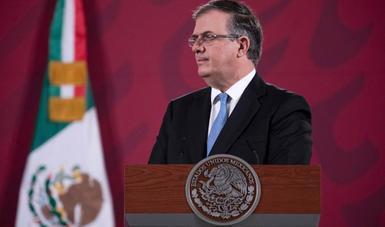 México pide a la ONU a promover la recuperación económica global y a reducir el impacto social por COVID-19