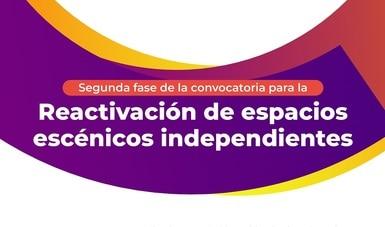 La Secretaría de Cultura anuncia una segunda fase de la Convocatoria para la Reactivación de espacios escénicos independientes