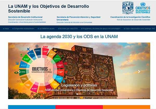 En línea, más de 792 mil acciones y productos de la UNAM en cumplimiento con la agenda 2030