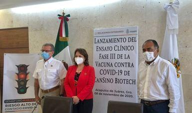 Arranca la fase III de la prueba clínica de la vacuna de CanSino en Guerrero