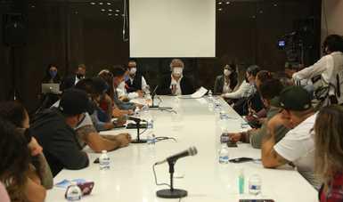 Acuerda subsecretario de Gobernación con familiares de víctimas de Guardería ABC iniciar mesas de trabajo con CEAV para revisar cada caso