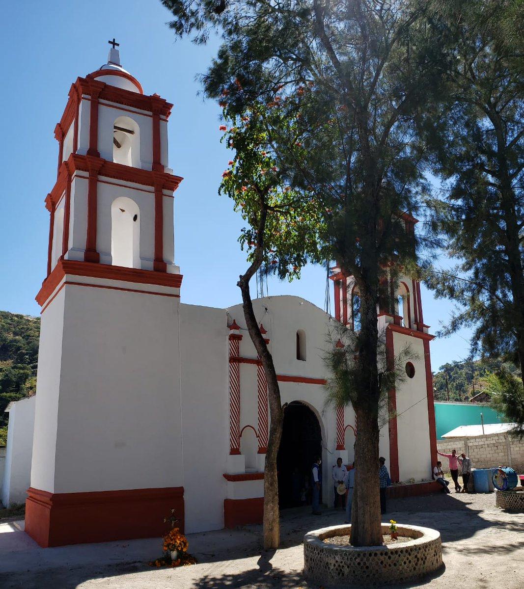 INAH entrega iglesia a la comunidad de Ocotequila, Gro., previo a la fiesta de su patrona, La Purísima Concepción