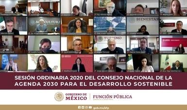 Secretaria Irma Eréndira Sandoval resalta lucha contra la corrupción en Agenda 2030 para el Desarrollo Sostenible