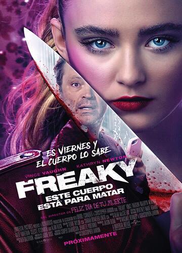 El Film de la Semana Freaky: Este cuerpo está para matar, horripilantemente divertida