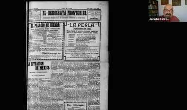 Abordan papel de la prensa en la frontera norte durante la época revolucionaria
