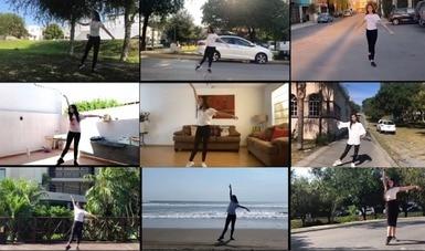 Estudiantes de la Escuela Superior de Música y Danza de Monterrey presentan la coreografía This life