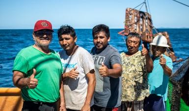 Reconoce Gobierno de México actividad pesquera y acuícola para el fortalecimiento de la seguridad alimentaria nacional