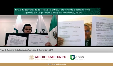 Convenio de Colaboración entre la ASEA y la Secretaría de Economía