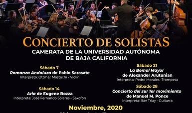 Joven trompetista de BC brindará concierto en transmisión del Cecut