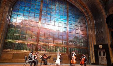 Los grupos de cámara de la OSN ofrecerán un ciclo de conciertos desde el Palacio de Bellas Artes