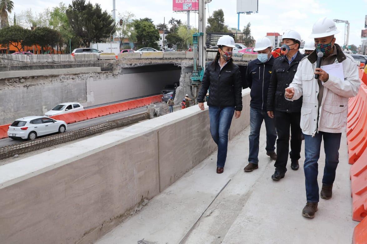 En enero de 2021, Gobierno capitalino abrirá a la circulación adecuación vial de Galindo y Villa