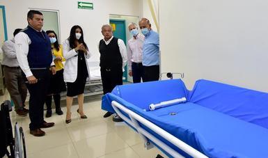 Cuentan habitantes de Texcoco, Estado de México, con nuevo Hospital Materno