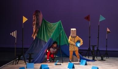 Kuitólil un punto de encuentro. Proyecto multicultural. Teatro para niñas, niños y jóvenes audiencias