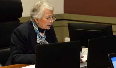 El bienestar de las personas, uno de los objetivos más importantes de la Cuarta Transformación, subraya secretaria Olga Sánchez Cordero