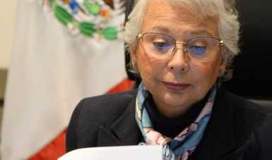 Palabras de la secretaria de Gobernación, Olga Sánchez Cordero, '2a Reunión Nacional de Titulares de los Sistemas Estatales DIF'