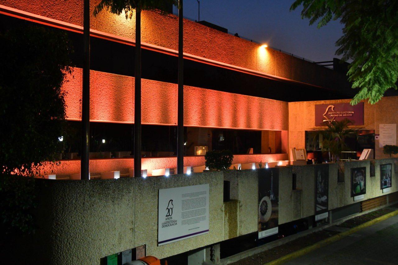 Conmemora IECM Día Naranja