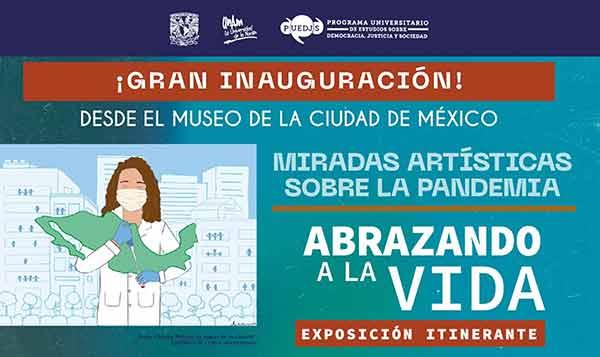 Lleva la UNAM mensaje esperanzador a usuarios del Metro, con exhibición artística