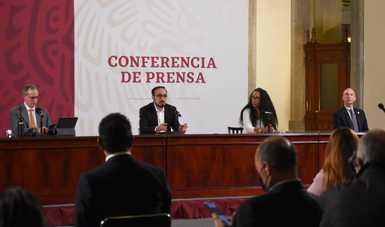 Versión estenográfica. Conferencia de prensa. Informe diario sobre coronavirus COVID-19 en México