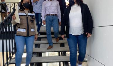 Supervisa comisionada de Conavim Centro de Justicia para las Mujeres en San Cristóbal de las Casas, Chiapas