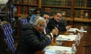Entabla secretaria Olga Sánchez Cordero diálogo abierto con organizaciones de la sociedad civil